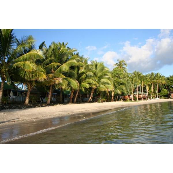Samoa Beaches: Beach Fal'e Accommodation